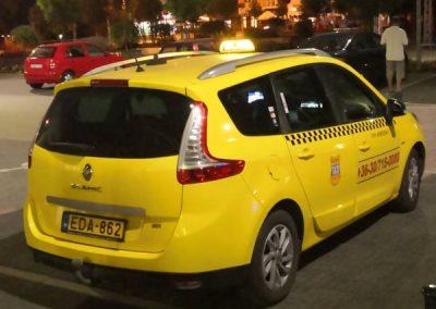 Taxi Zamárdi Taxi rendelés
